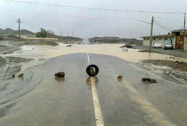 4 مسیر در جنوب سیستان و بلوچستان همچنان مسدود است