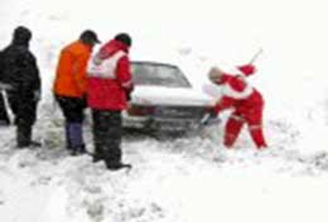 امدادرسانی به 2150 نفر گرفتار شده در برف طی 48 ساعت گذشته