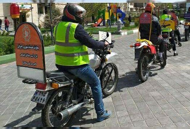 ساماندهی معضل تکدیگری با تشکیل یگانهای موتور سوار در سطح تبریز