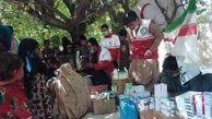 توزیع کمک های بهداشتی و غذایی میان زلزله زدگان پاکستان