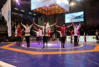 افتتاحیه سومین دوره مسابقات جهانی ورزش های زورخانه ای و کشتی پهلوانی