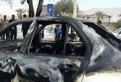چهار نفر از اعضای یک خانواده در آتش یک تصادف وحشتناک سوختند