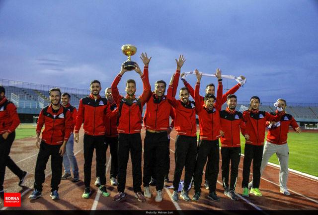 آذربایجان شرقی در سکوی نخست رقابت های قهرمانی دو و میدانی کشور ایستاد