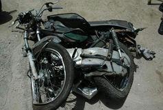 مرگ راکب موتورسیکلت در برخورد با خودرو پراید