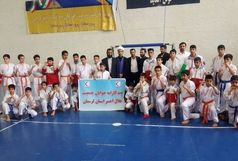قهرمانی تیم کاراته جوانان جمعیت هلال احمر لرستان در مسابقات کشوری