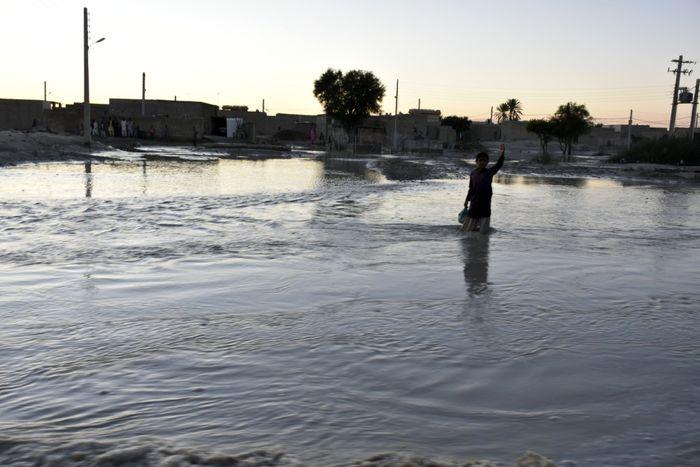 سیلاب ۲۶ میلیارد تومان به راههای جنوب کرمان خسارت زد