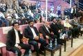 وزیر ورزش و جوانان ، امام جمعه ، استاندار  و نمایندگان مجلس میهمان ویژه بازی پرتغال شدند