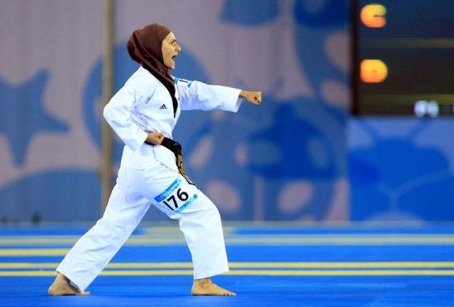 تمرین مشترک بانوان تیم ملی کاراته با هندیها برگزار شد