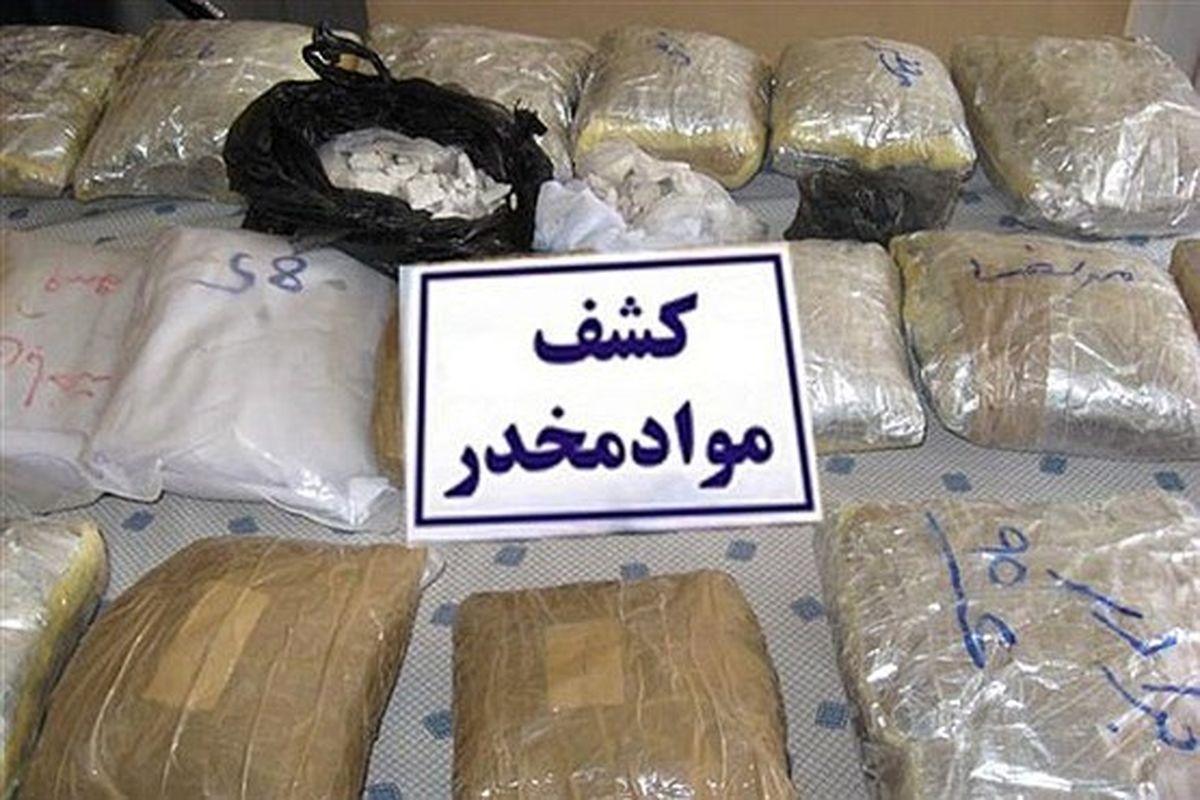 درگیری مسلحانه پلیس سراوان با قاچاقچیان/ بیش از یک تن مواد مخدر کشف شد