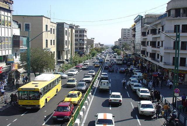 وضعیت ترافیک معابر بزرگراهی تهران در ۴ تیر ۹۸