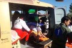 تصادف مینیبوس کارگران برداشت کاهو/17تبعه افغانی مصدوم شدند