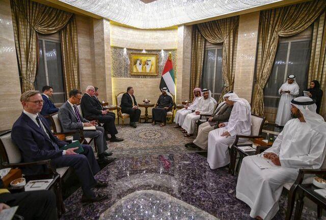 پمپئو در ابوظبی بر اهمیت مقابله با ایران تاکید کرد