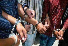دستگیری 7 توزیع کننده خرد مواد مخدر در فردوس