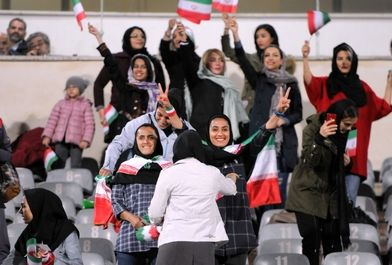در حاشیه دیدار تیم های فوتبال ایران- بولیوی