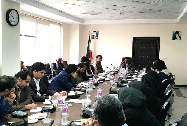 جلسه آموزشی توجیهی وظایف کارشناسان هیات های تطبیق بخش و روستا در هرمزگان برگزار شد