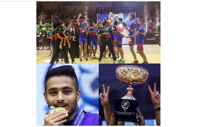 کبدی کار سیستان و بلوچستان قهرمان رقابتهای کبدی جهان شد