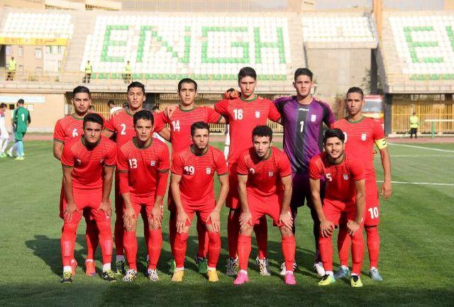 شکست جوانان ایران مقابل هامبورگ در حضور مهدوی کیا
