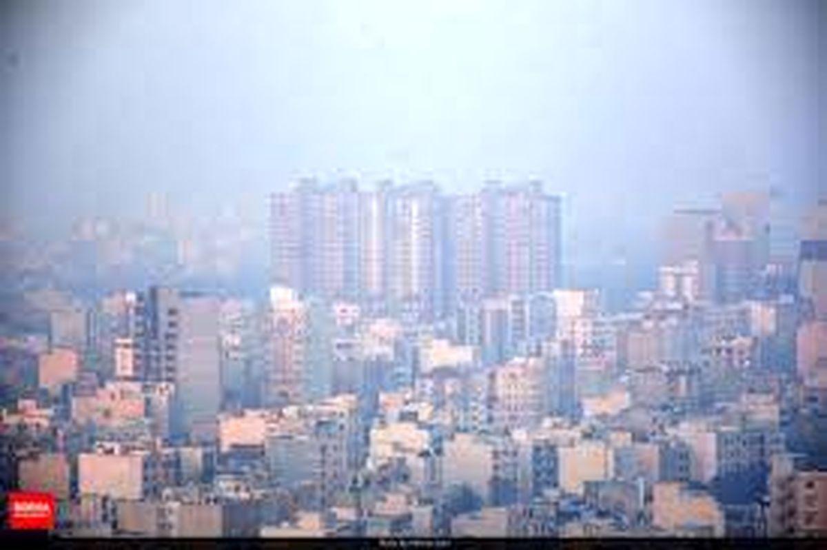 آخرین وضعیت کیفیت هوا تهران