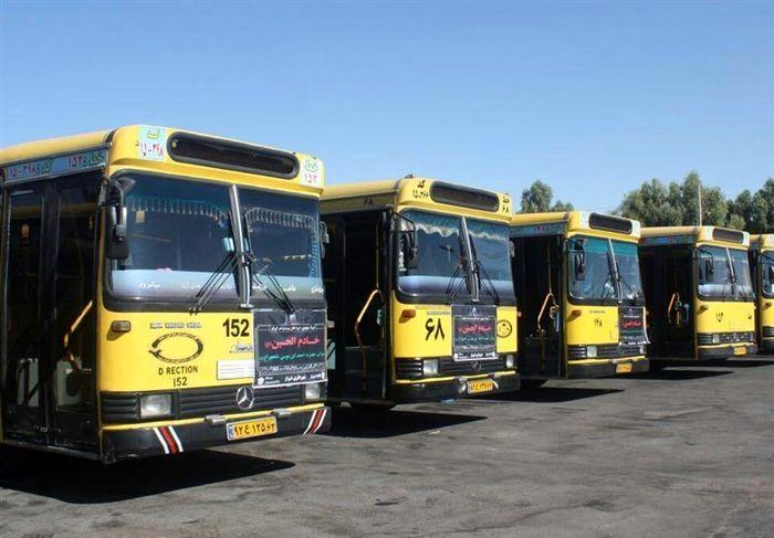 بخش عمده ناوگان اتوبوسرانی اهواز به چذابه منتقل شده است