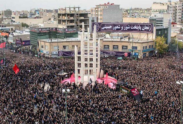 شاهبیت روز حرکت دسته حسینیه اعظم در یوم العباس توسط حاج ولی الله کلامی اعلام شد