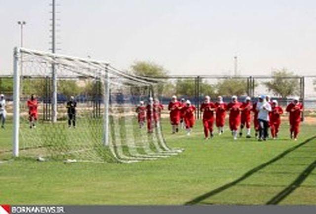 اردوی انتخابی تیم ملی جوانان در بندرعباس