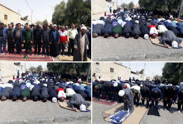 نماز ظهر عاشورا در زاهدان اقامه شد