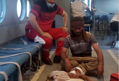 جوان عشایری طعمه خرس وحشی شد/ امداد هوایی هلالاحمر برای نجات مصدوم