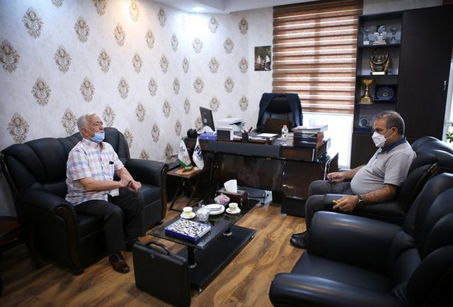 دیدار مازیار ناظمی با نایب رئیس سابق فدراسیون موتورسواری و اتومبیلرانی