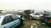 مرگ 6 تن در تصادف وحشتناک دو خودرو سواری