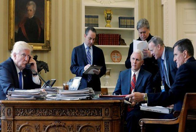 وضعیت بحرانی کاخ سفید به دنبال ضعف ترامپ در تصمیم گیری ها