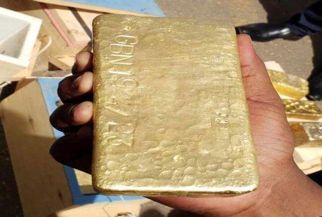 جاساز طلای قاچاق در چمدان مسافر فرودگاه
