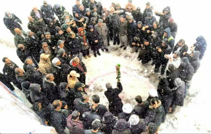 کلنگ زنی گازرسانی به ۱۷ روستای سردشت