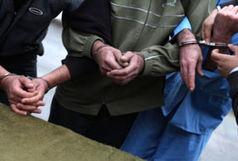 دستگیری 8 سارق حرفه ایی با اعتراف به 23 فقره انواع سرقت