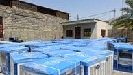 توزیع کولر آبی میان خانواده های تحت حمایت کمیته امداد استان تهران