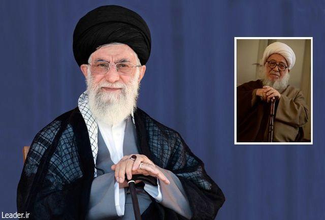رهبر انقلاب درگذشت حجتالاسلام اشرفی را تسلیت گفتند