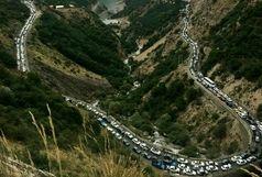 ترافیک سنگین کرج-چالوس