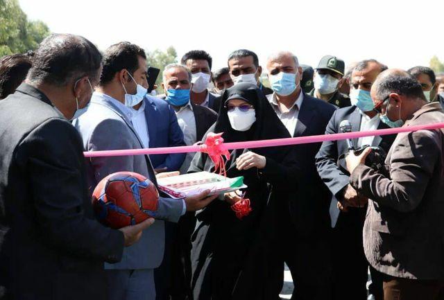 آغاز ساخت مجموعه ورزشی در کازرون با حضور معاون وزیر ورزش و جوانان