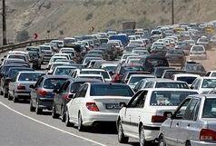 درجاده چالوس و آزادراه تهران- کرج –قزوین ترافیک سنگین است