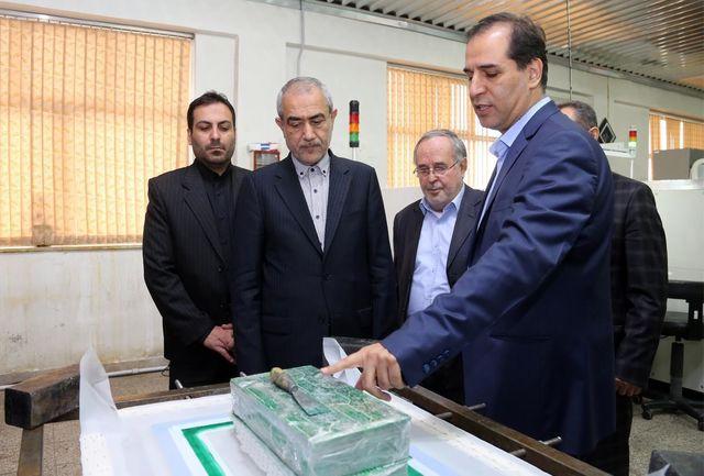 استاندار آذربایجان شرقی از دو واحد تولیدی و صنعتی بازدید کرد