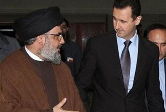 حزبالله لبنان پیروزی مجدد بشار اسد را تبریک گفت