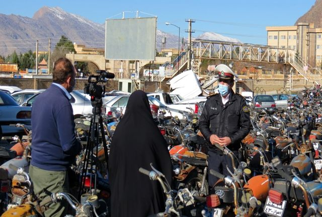 ترخیص بیش از دو هزار و 200 موتورسیکلت  توقیفی در استان
