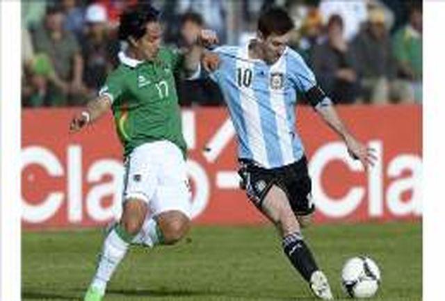 توقف آرژانتین و شکست اروگوئه و کلمبیا/ شب شگفتیها