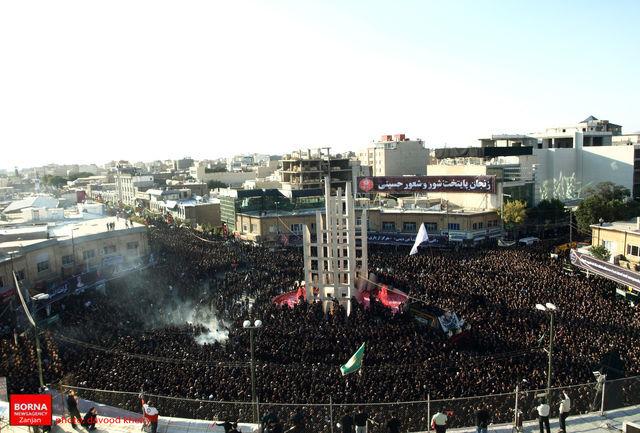 هیات امنا آستان مقدس حسینیه اعظم زنجان، از حضور پر شور و شعور حسینیان تشکر و قدردانی کرد