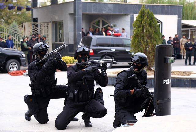 برگزاری رزمایش حمله تروریستی به استانداری قزوین