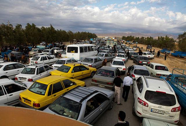 ممنوعیت تردد خودروهای زائران به مرز مهران