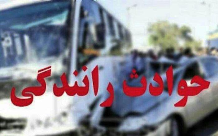 پنج کشته و مصدوم در تصادف خونین محور خرم آباد به بیرانشهر