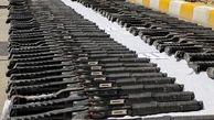 کشف ۲۰۰ قبضه سلاح شکاری در مرزهای آذربایجان غربی