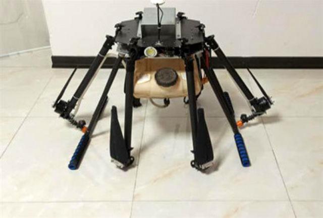 ساخت پهباد سمپاش مبتنی بر پیشرفتهترین فناوریهای روز دنیا