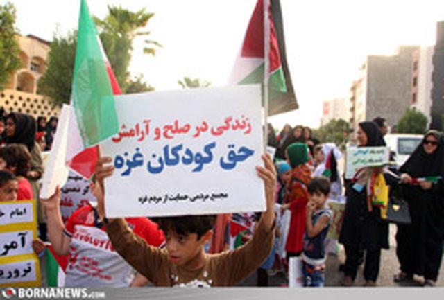 کمک های مردمی برای کودکان غزه جمع آوری می شود