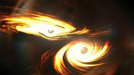 کشف عجیبترین برخورد دو سیاهچاله